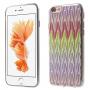Ochranný kryt s motivem drahokamů pro Apple iPhone 6 / 6S - stříbrný