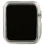 BASEUS ultra tenké gumové pouzdro pro Apple Watch 38mm (tl. 0,65mm) - průhledné