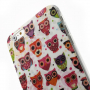 Lesklý ochranný kryt na Apple iPhone 6 / 6S - Sovy