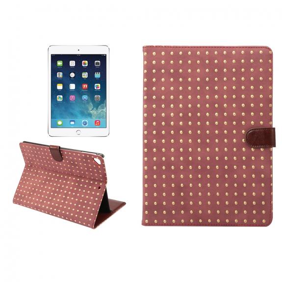 "AppleKing ochranné flip pouzdro s integrovaným stojánkem pro Apple iPad 9.7"" (2017) / iPad 2018 / iPad Pro 9.7"" / iPad Air / iPad Air 2 - tmavě růžové - možnost vrátit zboží ZDARMA do 30ti dní"