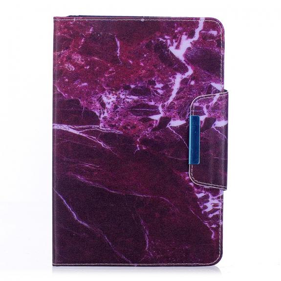 AppleKing ochranné pouzdro / kryt se stojánkem pro Apple iPad mini 4 - purpurový mramor - možnost vrátit zboží ZDARMA do 30ti dní