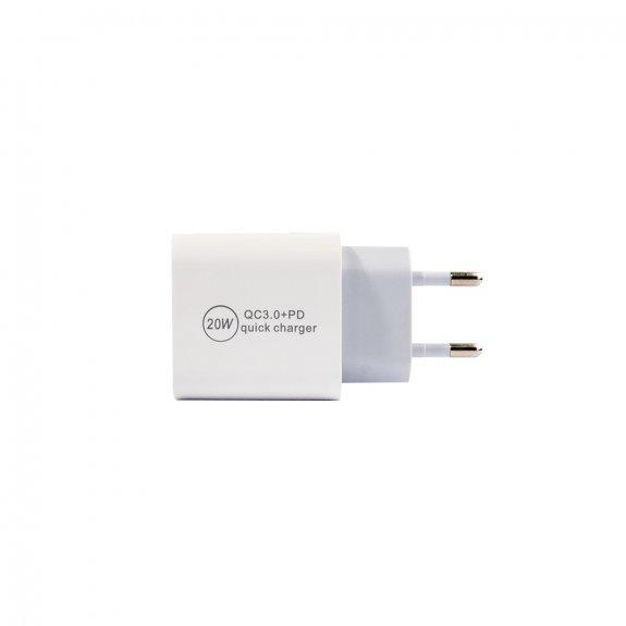 Appleking rychlonabíjecí adaptér 20W USB-A / USB-C nejen pro Apple zařízení - možnost vrátit zboží Z