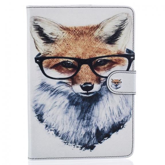 AppleKing ochranný kryt / pouzdro se stojánkem pro Apple iPad mini 3 / 2 / 1 - liška s brýlemi - možnost vrátit zboží ZDARMA do 30ti dní