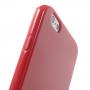 Lesklý gelový kryt na Apple iPhone 6 / 6S - červený