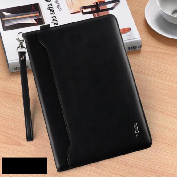"""KAKUSIGA multifunkční peněženkové pouzdro pro Apple iPad 9.7"""" (2017) / iPad 2018 / iPad Pro 9.7 / iPad Air / iPad Air 2 - černé - možnost vrátit zboží ZDARMA do 30ti dní"""