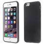 Lesklý gelový kryt na Apple iPhone 6 / 6S - černý