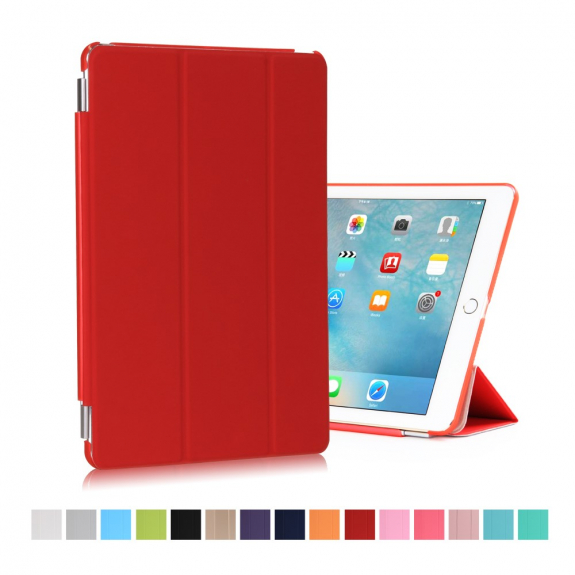 """AppleKing hladké Smart pouzdro / kryt s funkcí uspání a stojánkem pro Apple iPad Pro 9.7"""" / Air 2 -"""