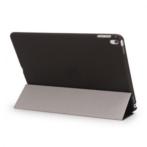 """AppleKing hladké Smart pouzdro / kryt s funkcí uspání a stojánkem pro Apple iPad Pro 9.7"""" / Air 2 - černé - možnost vrátit zboží ZDARMA do 30ti dní"""