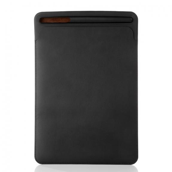 """AppleKing luxusní pouzdro z umělé kůže pro Apple iPad 9.7"""" (2017) / iPad 2018 / iPad 10.5"""" / iPad Air - černé - možnost vrátit zboží ZDARMA do 30ti dní"""