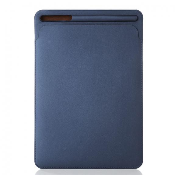 """AppleKing luxusní pouzdro z umělé kůže pro Apple iPad 9.7"""" (2017) / iPad 2018 / iPad 10.5"""" / iPad Air - tmavě modré - možnost vrátit zboží ZDARMA do 30ti dní"""