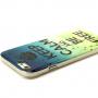 Lesklý kryt na Apple iPhone 6 / 6S - Keep Calm and Be Free