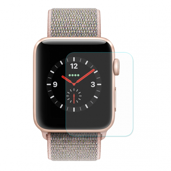 ENKAY ochranné tvrzené 2.15D sklo pro Apple Watch 42mm - 0.2mm - možnost vrátit zboží ZDARMA do 30ti dní
