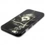 Plastový kryt pro Apple iPhone 6 / 6S - Opice s cigaretou