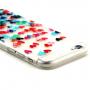 Obal pro Apple iPhone 6 / 6S - bílý s vyrytými srdíčky