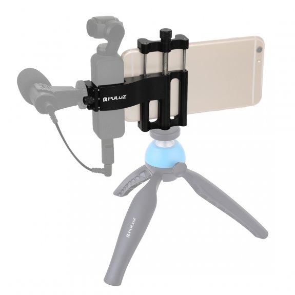 Puluz multifunkční upevňovací držák pro iPhone - černý - možnost vrátit zboží ZDARMA do 30ti dní
