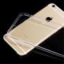 ENKAY tenký obal s ocelovou ochranou čočky pro Apple iPhone 6 / 6S - černý