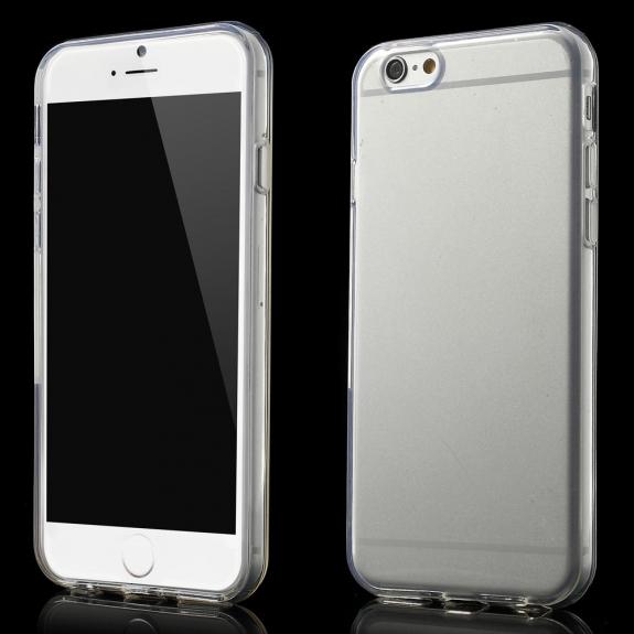 Lesklý kryt na Apple iPhone 6 / 6S - průhledný