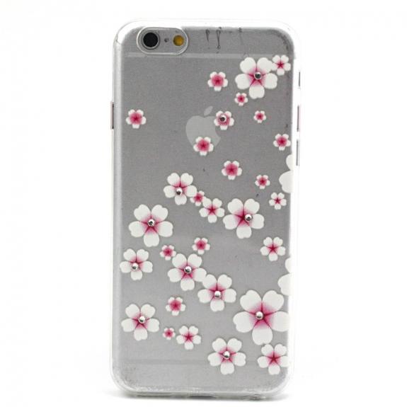 Kryt na Apple iPhone 6 / 6S - Květinový vzor