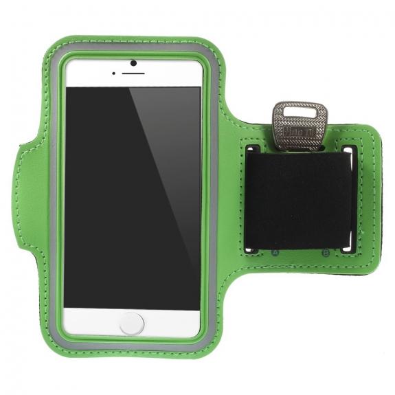 AppleKing sportovní pouzdro na ruku pro Apple iPhone 6 / 6S - zelené - možnost vrátit zboží ZDARMA do 30ti dní