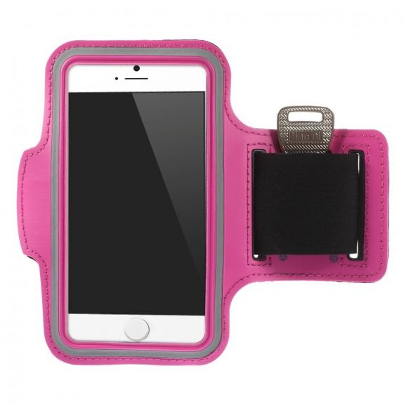 AppleKing sportovní pouzdro na ruku pro Apple iPhone 6 / 6S - růžové - možnost vrátit zboží ZDARMA do 30ti dní