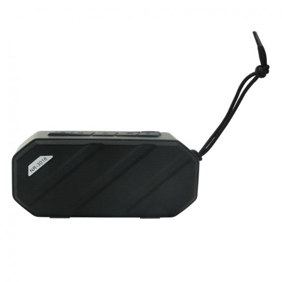 AppleKing voděodolný přenosný Bluetooth reproduktor vhodný pro outdoorové sporty - černý - možnost vrátit zboží ZDARMA do 30ti dní