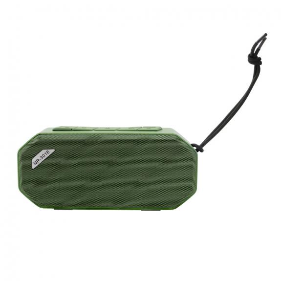 AppleKing voděodolný přenosný Bluetooth reproduktor vhodný pro outdoorové sporty - zelený - možnost vrátit zboží ZDARMA do 30ti dní