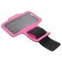 Sportovní pouzdro na ruku pro Apple iPhone 6 / 6S - růžové