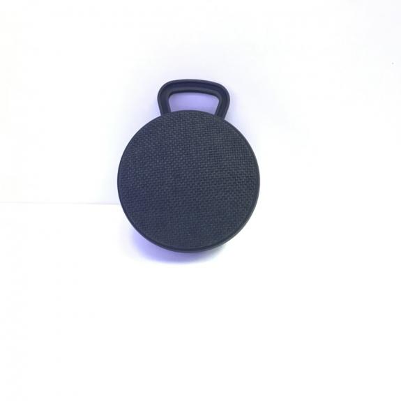 AppleKing malý přenosný bezdrátový Bluetooth reproduktor s textilním potahem - černý - možnost vrátit zboží ZDARMA do 30ti dní