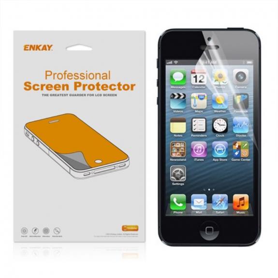 ENKAY ochranná čirá fólie pro Apple iPhone 5 / 5S / 5C - možnost vrátit zboží ZDARMA do 30ti dní