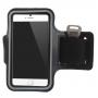 Sportovní pouzdro na ruku pro Apple iPhone 6 / 6S - černé