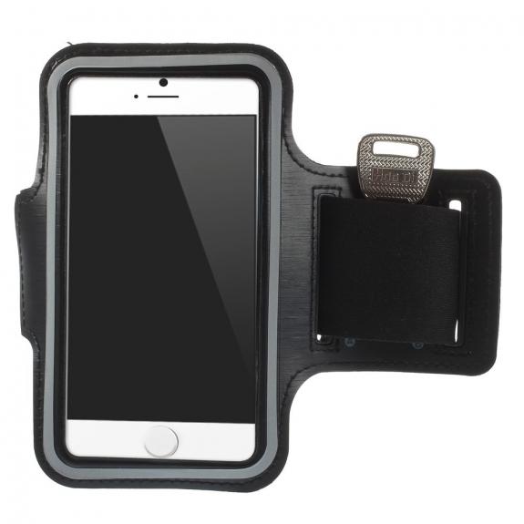 AppleKing sportovní pouzdro na ruku pro Apple iPhone 6 / 6S - černé - možnost vrátit zboží ZDARMA do 30ti dní