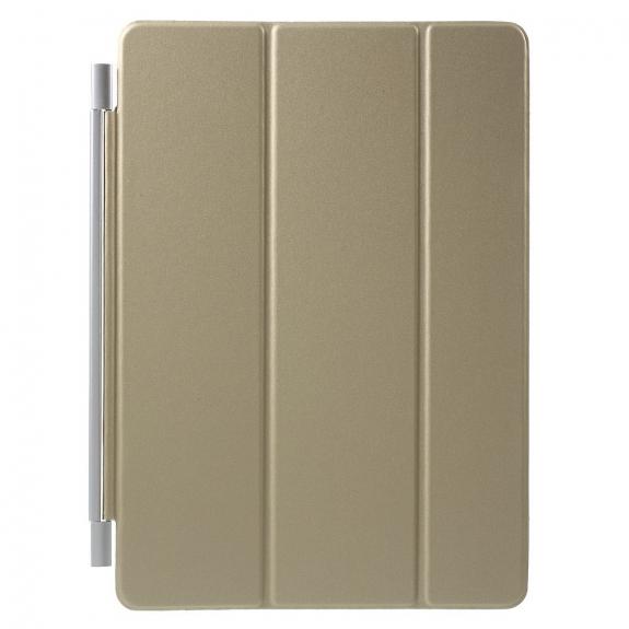 AppleKing puzdro Smart Cover s funkcí uspání pro Apple iPad Air 2 - zlaté - možnost vrátit zboží ZDARMA do 30ti dní