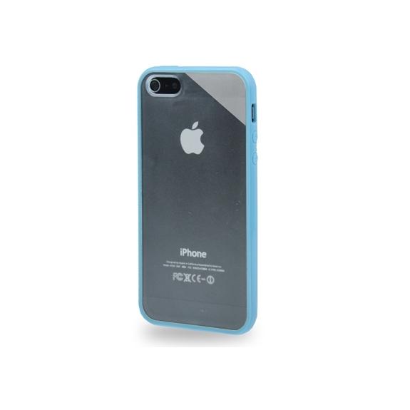 AppleKing průsvitný matný kryt pro iPhone 5   5S   SE - modrý - možnost  vrátit d00640272bb