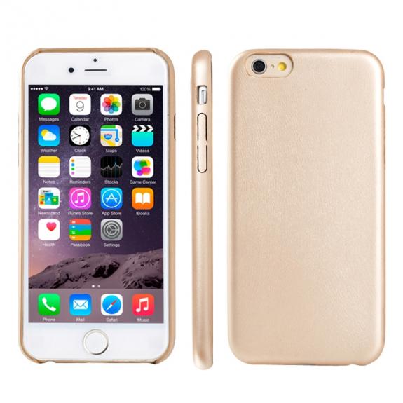 AppleKing ultratenký kryt z měkkého plastu pro Apple iPhone 6 Plus / 6S Plus - zlatý - možnost vrátit zboží ZDARMA do 30ti dní