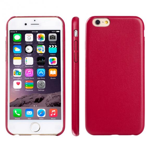 AppleKing ultratenký kryt z měkkého plastu pro Apple iPhone 6 Plus   6S  Plus - červený 7c8b88fd515