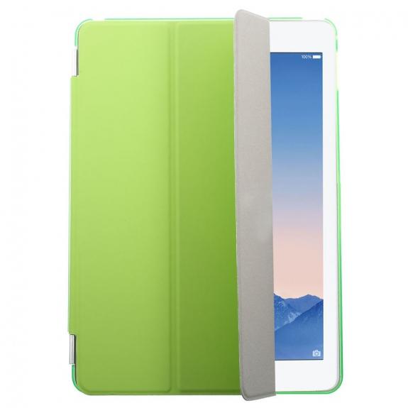 AppleKing plastové pouzdro Smart Cover pro Apple iPad Air 2 - zelené - možnost vrátit zboží ZDARMA do 30ti dní