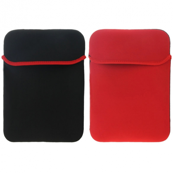 "AppleKing ochranný oboustranný neoprenový obal pro Apple iPad 9,7"" / iPad 2018 / iPad Air / iPad 4 - červeno / černý - možnost vrátit zboží ZDARMA do 30ti dní"