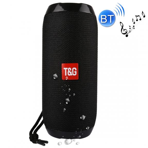 T&G přenosný Bluetooth reproduktor pro Apple iPhone / iPad / iPod - černý - možnost vrátit zboží ZDARMA do 30ti dní