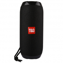 T&G přenosný Bluetooth reproduktor pro iPhone / iPad / iPod - černý