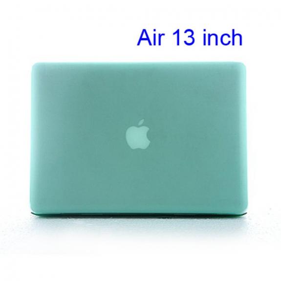 """Tvrzený kryt pro MacBook Air 13"""" - průsvitně zelený"""