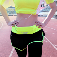 FLOVEME pružný sportovní pásek s kapsou pro Apple iPhone / iPod - 75-85 cm - zelený