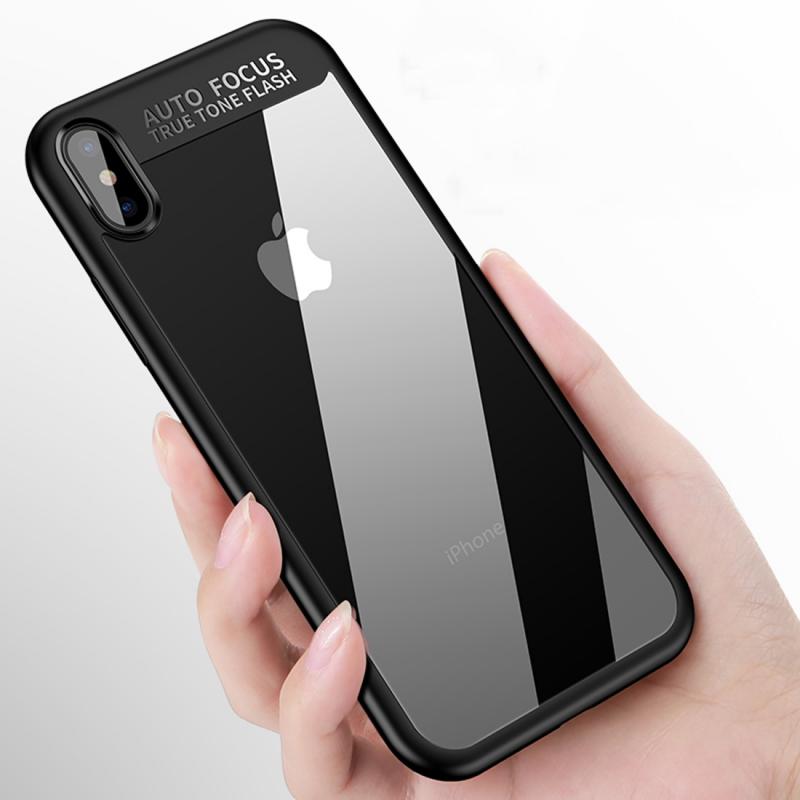 CAFELE ochranný kryt pro Apple iPhone XS   iPhone X s transparentní zadní  stranou - černý ... 607755c886a