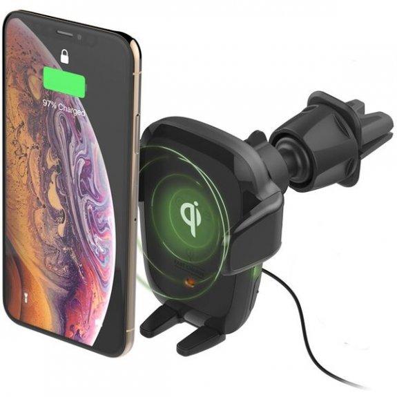 iOttie AutoSense Wireless držák do ventilace/CD slotu s bezdrátovým nabíjením pro iPhone - černý - možnost vrátit zboží ZDARMA do 30ti dní