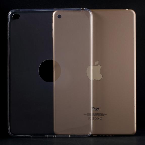 AppleKing lesklý ultratenký kryt pro Apple iPad mini 4 - průhledný - možnost vrátit zboží ZDARMA do 30ti dní