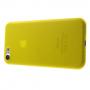 Ultratenký plastový kryt na Apple iPhone 8 / 7 - žlutý