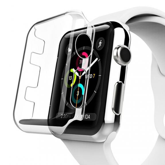 AppleKing pouzdro pro Apple Watch s ochranou displeje - 38mm - 3. generace - možnost vrátit zboží ZDARMA do 30ti dní