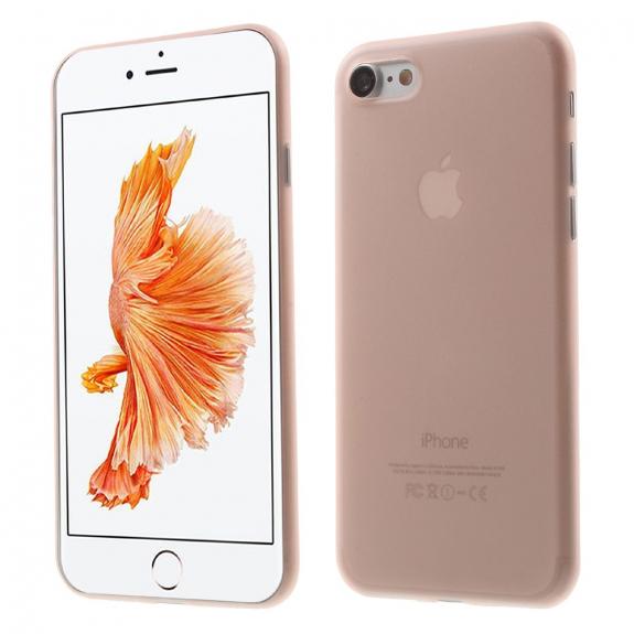 AppleKing ultratenký 0.3 mm kryt na Apple iPhone 7 - růžový - možnost vrátit zboží ZDARMA do 30ti dní