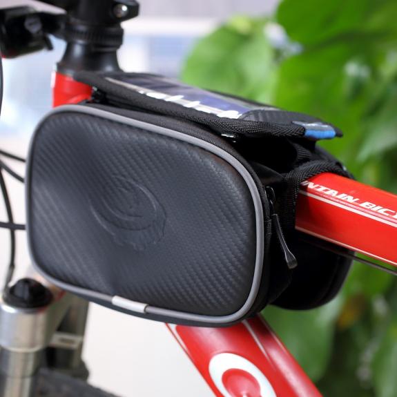 ROSWHEEL sportovní pouzdro na rám kola s kapsami pro Apple iPhone 6 Plus / 6S Plus - možnost vrátit zboží ZDARMA do 30ti dní