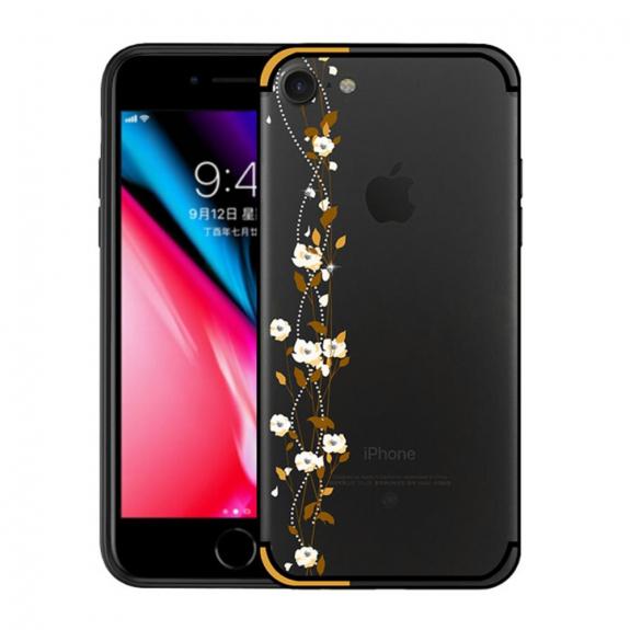 NXE ochranný kryt s transparentní zadní stranou pro Apple iPhone 8   7 -  žlutý - 331e3ac7909