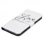 Pouzdro se stojánkem a sloty na karty pro Apple iPhone 7 - Love